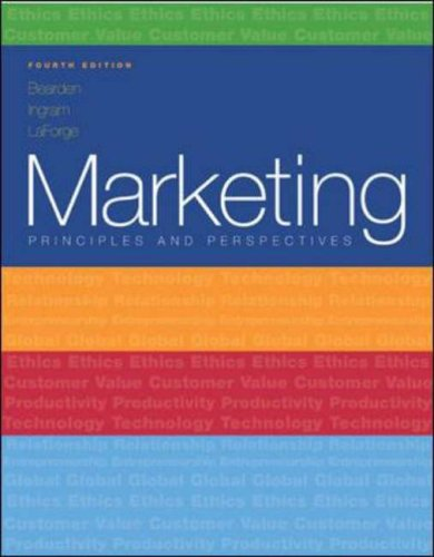 9780072860573: Marketing: Principles and Perspectives, 4/e (Paperback) (McGraw-Hill/Irwin Series in Marketing)