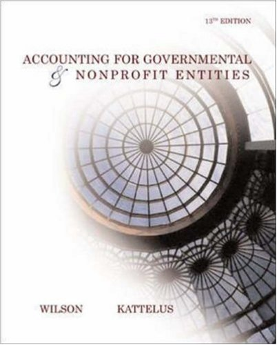 9780072860597: Accounting for Governmental and Nonprofit Entities w/ City of Smithville