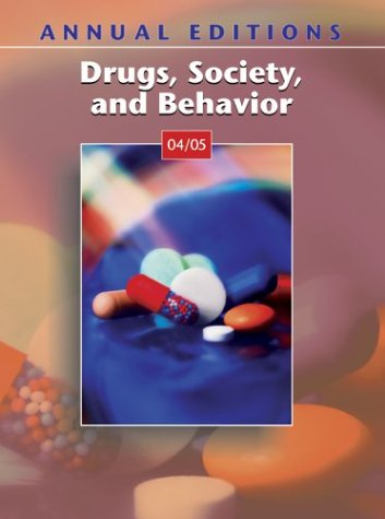9780072860733: Annual Editions: Drugs, Society, and Behavior 04/05 (Annual Editions)