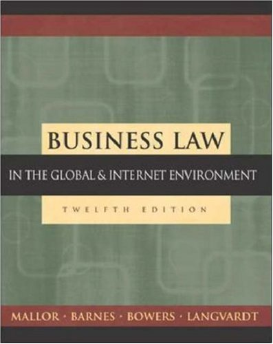 9780072860955: Business Law: The Ethical, Global, and E-Commerce Environment with PowerWeb and Student DVD