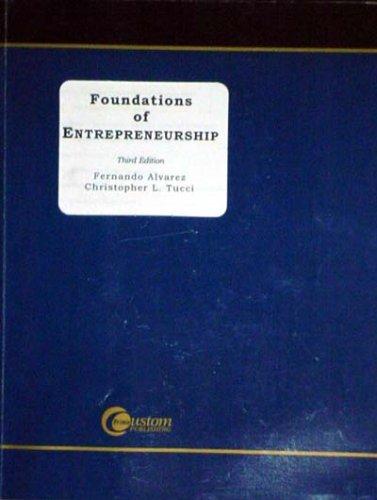 9780072861051: Foundations of Entrepreneurship