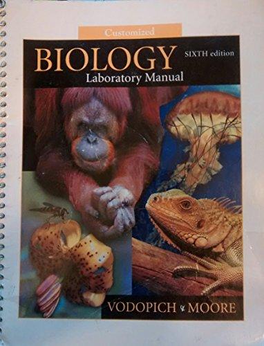 9780072861242: Customized BIOLOGY Laboratory Manual