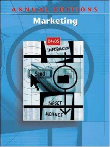 Annual Editions: Marketing 04/05: Richardson, John E,