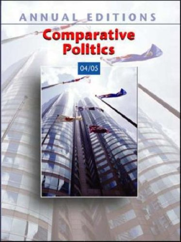 9780072861457: Annual Editions: Comparative Politics 04/05 (Annual Editions)
