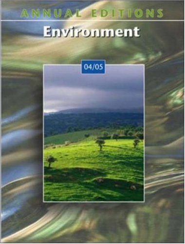 9780072861471: Annual Editions: Environment 04/05 (Annual Editions)