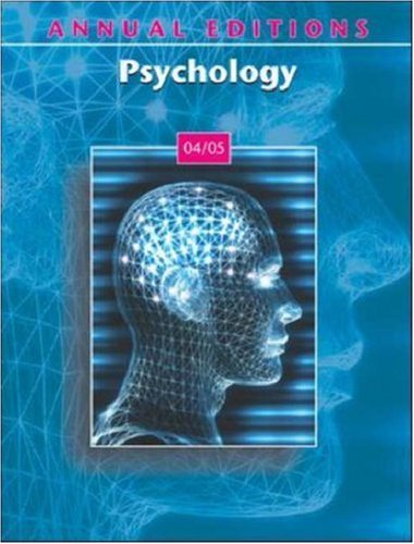 Annual Editions: Psychology 04/05: Karen G Duffy,