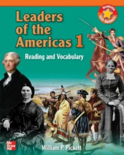 9780072861990: Leaders of the Americas: Reading and Vocabulary- BOOK 1 SB
