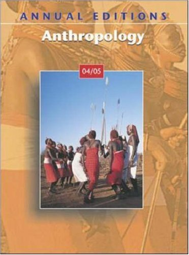 9780072862270: Annual Editions: Anthropology 04/05 (Annual Editions)