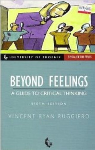 9780072862584: Beyond Feelings: A Guide to Critical Thinking