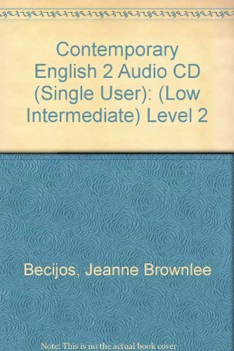 9780072862683: Contemporary English Level 2 Audio CD Package, 2nd Edition
