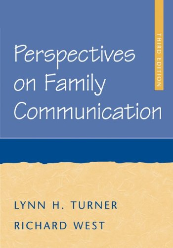 9780072862928: Perspectives on Family Communication