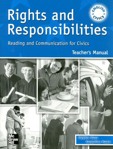 9780072863505: Rights and Responsibilities: Reading and Communication for Civics TM