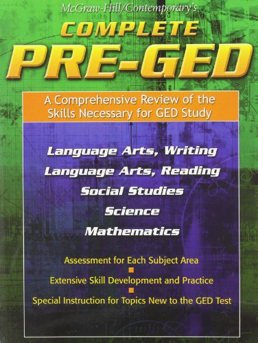 9780072863567: Complete Pre-GED*
