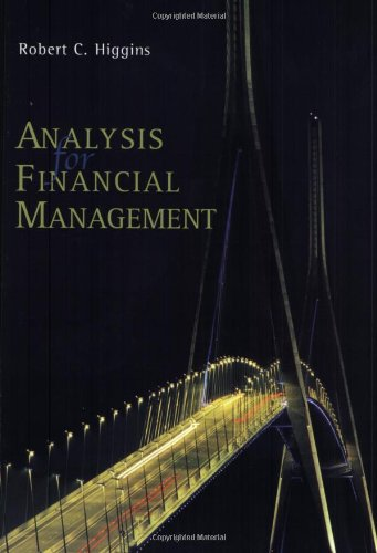 9780072863642: Analysis for Financial Management + Standard & Poor's Educational Version of Market Insight