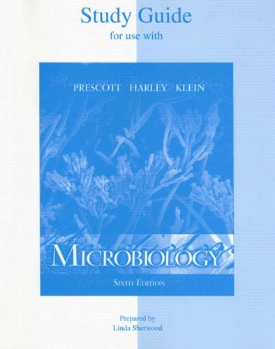 9780072864854: Student Study Guide to accompany Microbiology