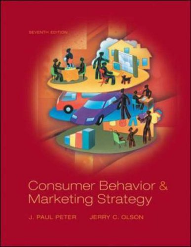 9780072864878: Consumer Behavior: and Marketing Strategy (McGraw-Hill/Irwin Series in Marketing)