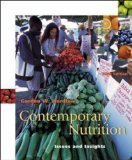 9780072865301: Contemporary Nutrition issues and insights