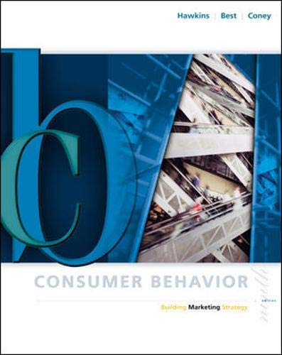9780072865493: Consumer Behavior: With DDB Needham Data Disk: Building Marketing Strategy (The Irwin/McGraw-Hill series in marketing)