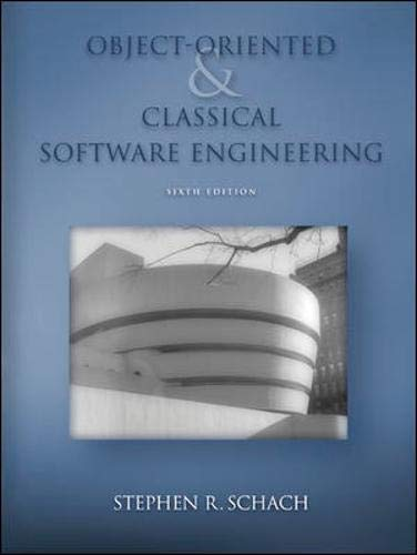 9780072865516: Object-Oriented and Classical Software Engineering