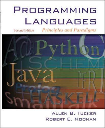 9780072866094: Programming Languages