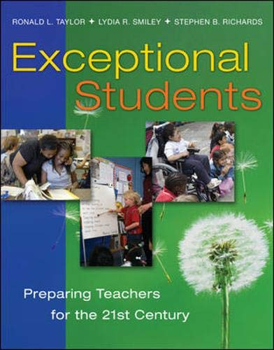 9780072866377: Exceptional Students: Preparing Teachers for the 21st Century