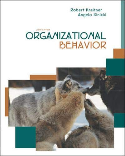 9780072866582: Organizational Behavior with Student CD and PowerWeb