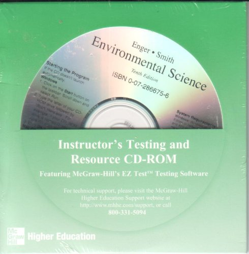 9780072866759: Instructors Testing & Resource Cdrom to