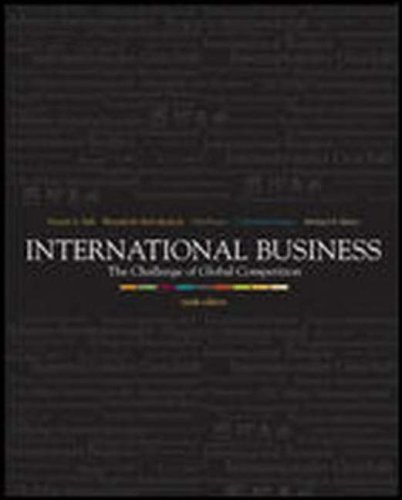9780072866841: International Business: The Challenge of Global Competition with PowerWeb, CD, and CESIM