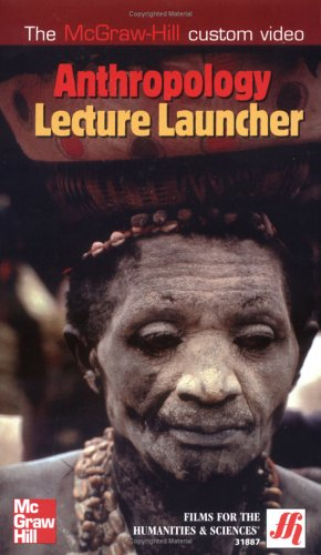 9780072867053: Anthropology Lecture Launcher VHS Videotape (97 mins.)