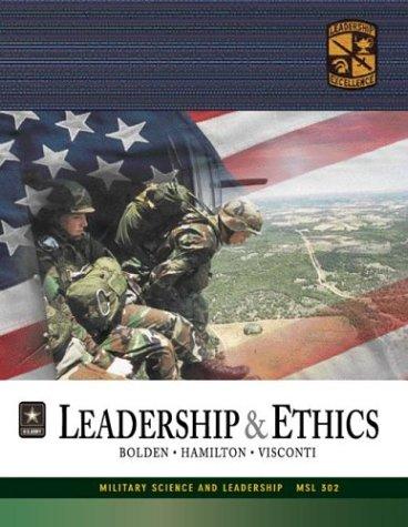 9780072867893: MSL 302 Leadership and Ethics Textbook