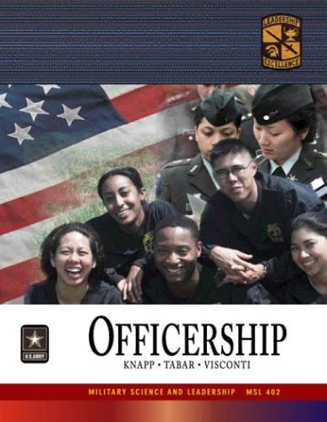 9780072867916: MSL 402 Officership Textbook