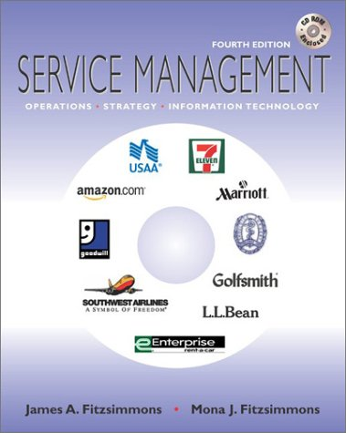 9780072868203: Service Management w/ Student CD-Rom