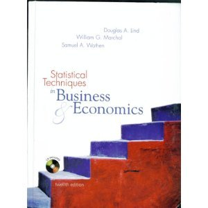 9780072868241: Statistical Techniques in Business & Economics (Irwin/Mcgraw-Hill Series in Operations and Decision Sciences.)