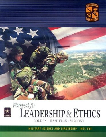 9780072868807: MSL 302 Leadership and Ethics Text, Workbook, and CD