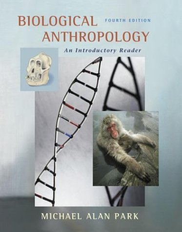 9780072868890: Biological Anthropology: An Introductory Reader