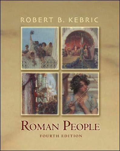 9780072869040: Roman People