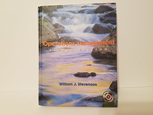 Operations Management (The Mcgraw-Hill/Irwin Series Operations and: William J. Stevenson