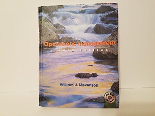 Operations Management Eighth Edition: Stevenson, William J.