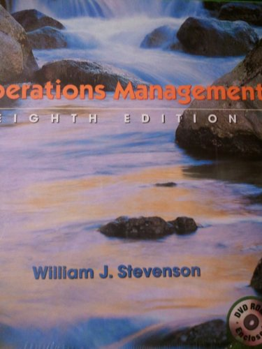 9780072869088: Operations Management (The Mcgraw-Hill/Irwin Series Operations and Decision Sciences)