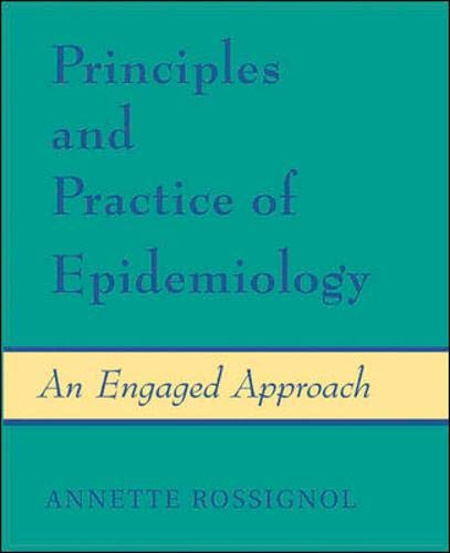 9780072869392: Principles and Practice of Epidemiology: An Engaged Approach