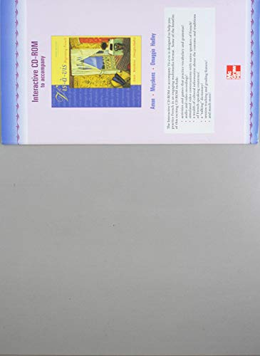 9780072870411: Student CD-ROM Program to accompany Vis-a-vis