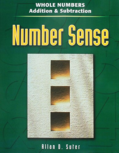 9780072871043: Number Sense Whole Numbers Addition & Subtraction