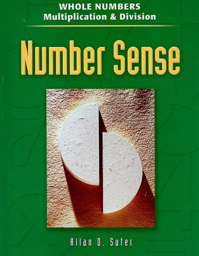 Number Sense: Whole Numbers Mult And Division: Suter, Allan D.