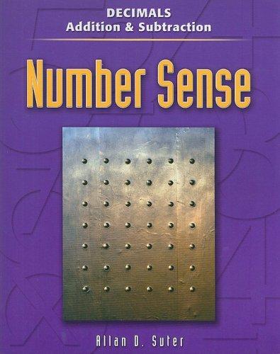 Decimals: Addition & Subtraction (Contemporary's Number Sense): Suter, Allan D.
