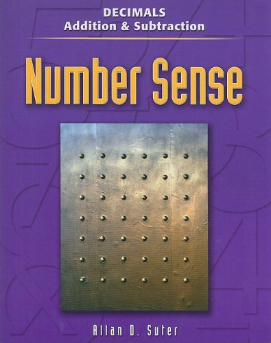 Decimals: Addition & Subtraction (Contemporary's Number Sense): Suter, Allan D.