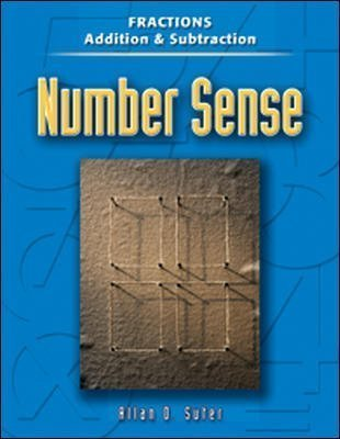 9780072871098: Number Sense: Fractions Addition And Subtraction