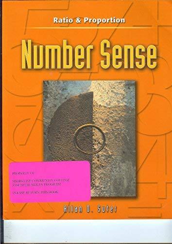 9780072871111: Ratio & Proportion. Number Sense (Number Sense series.)