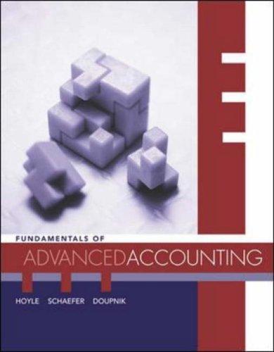 9780072871173: Fundamentals of Advanced Accounting