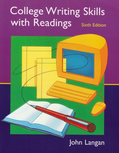 College writing skills readings by john langan abebooks college writing skills with readings john langan fandeluxe