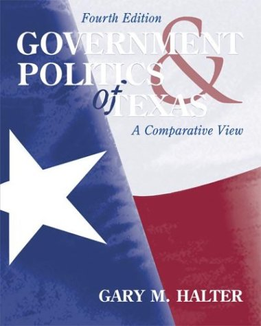 9780072871616: Government and Politics of Texas